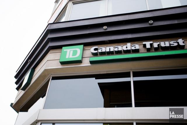 La Banque TDs'attend à une croissance de 2,2%... (PHOTO SARAH MONGEAU-BIRKETT, ARCHIVES LA PRESSE)