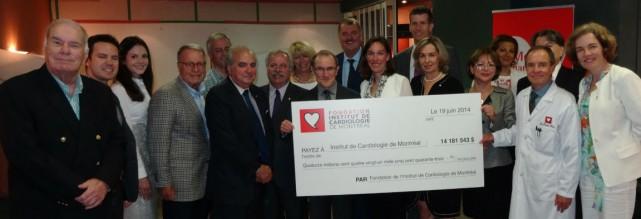La Fondation de l'Institut de Cardiologie de Montréal...