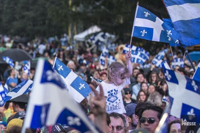 Ainsi, le Québec comptait 8,21 millions d'habitants le... (PHOTO OLIVIER PONTBRIAND, ARCHIVES LA PRESSE)
