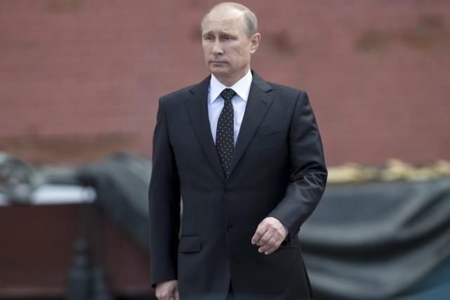Vladimir Poutine... (Photo Alexander Zemlianichenko, Associated Press)
