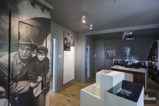 D'une grande sobriété, l'exposition permanente aménagée dans la... (PHOTO EDOUARD PLANTE-FRECHETTE, LA PRESSE)