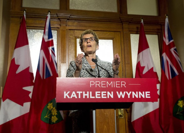 Kathleen Wynne... (PHOTO NATHAN DENETTE, ARCHIVES PC)