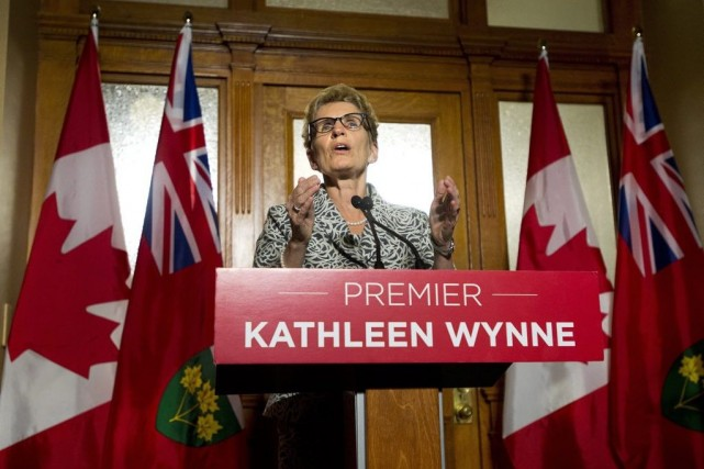 Kathleen Wynne... (Photo Nathan Denette, archives La Presse Canadienne)