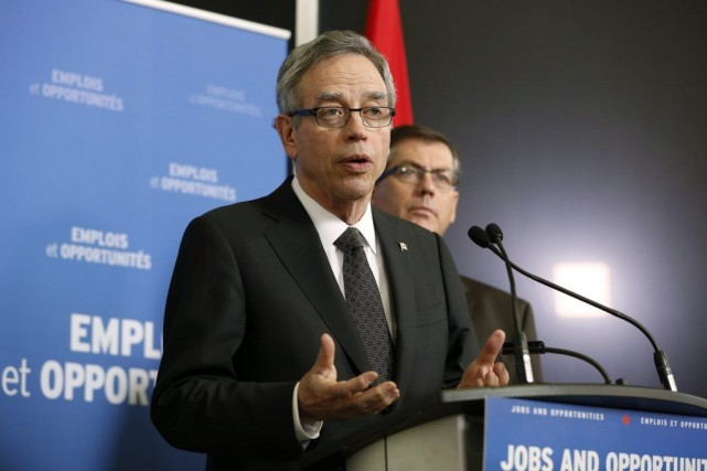 Le ministre des Finances du Canada, Joe Oliver.... (PHOTO CHRIS WATTIE, ARCHIVES REUTERS)