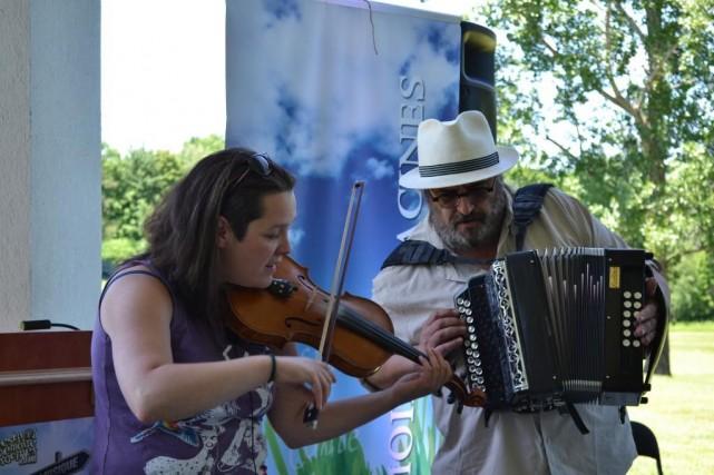 «Dans Lanaudière, la musique traditionnelle représente le besoin... (Photo fournie par Mémoire et racines)