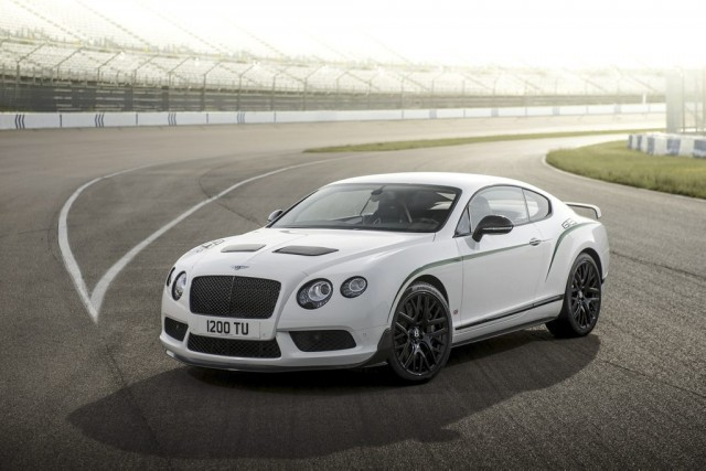 La Bentley Continental GT3-R... (Photo fournie par Bentley)