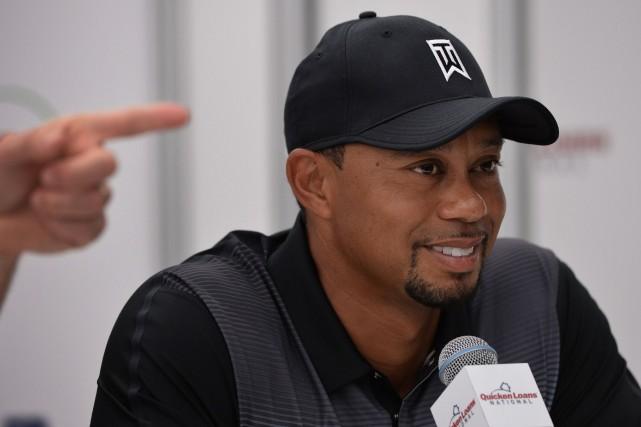 Tiger Woods... (PHOTO MLADEN ANTONOV, AFP)