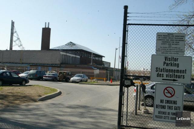Le centre de détention d'Ottawa-Carleton.... (Patrick Woodbury, Archives LeDroit)