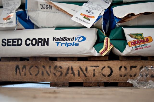 Le géant américain de l'agrochimie Monsanto (MON) a payé au... (Photo Daniel Acker, Archives Bloomberg)