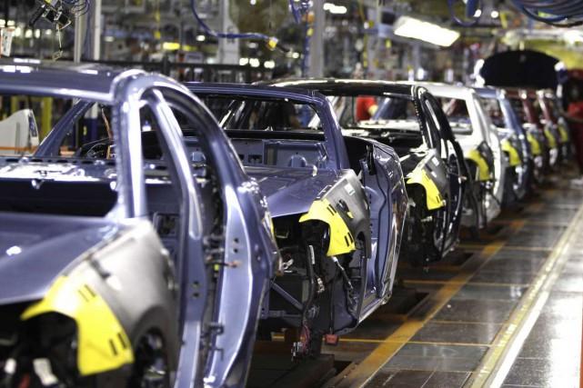 Hormis le secteur automobile (+2,7%), les équipements électriques... (PHOTO CARLOS OSORIO, ARCHIVES AP)