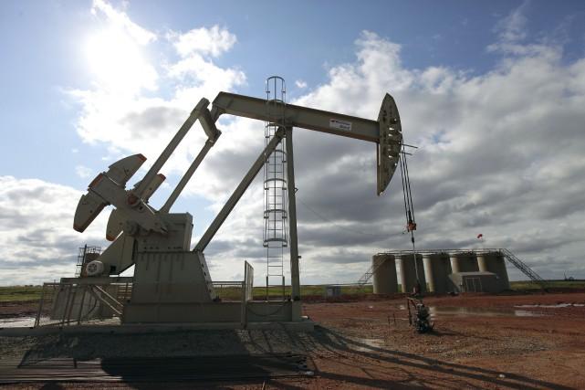 Les cours du pétrole cotés à New York ont avancé mercredi, dopé par des... (Photo Jim Wilson, New York Times)
