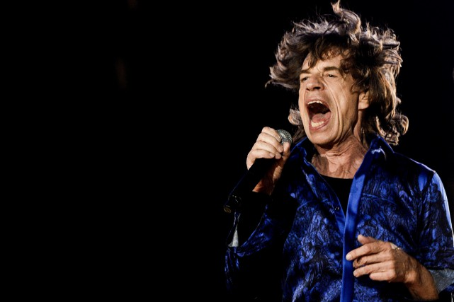 Mick Jagger... (Photo: archives AFP)