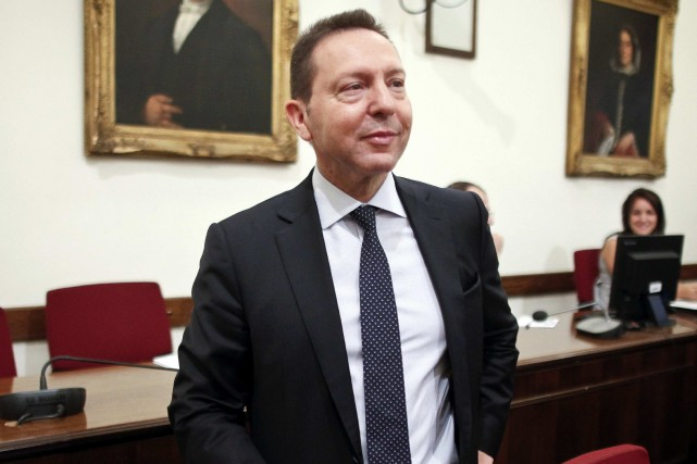 Le nouveau gouverneur de la Banque de Grèce,... (Photo Alkis Konstantinidis, Reuters)