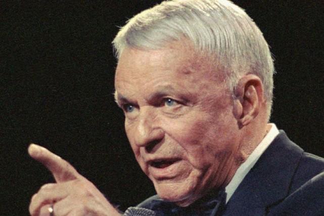 Frank Sinatra... (Photo Archives AP)