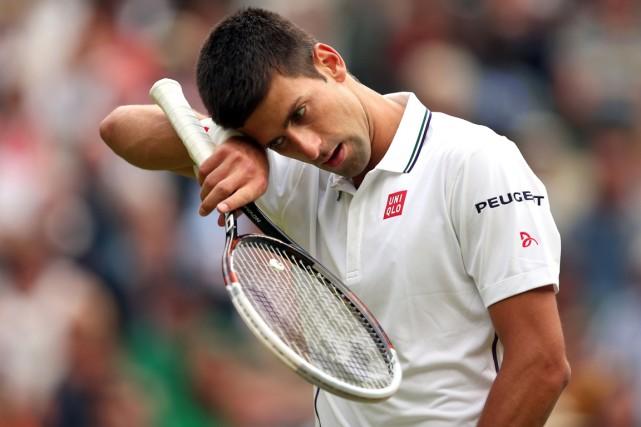 Novak Djokovic n'a pas eu la tâche facile... (Photo Andrew Yates, AFP)