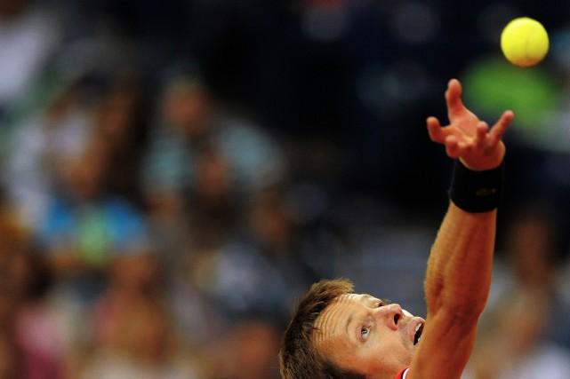 Daniel Nestor... (Photo Archives AFP)