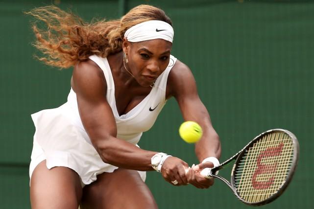Serena Williams n'a mis que 49 minutes pour... (Photo Andrew Yates, AFP)