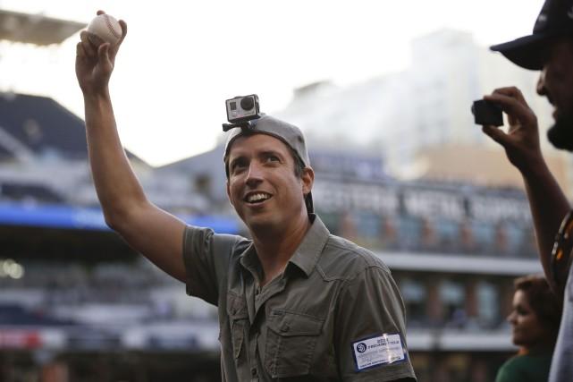 Le fondateur et PDG de GoPro,Nick Woodman...