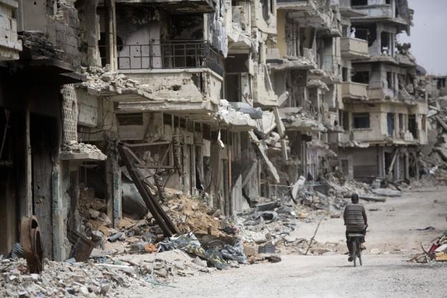 La Syrie est le «pays le moins en... (PHOTO DUSAN VRANIC, ARCHIVES AP)