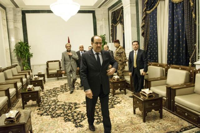 Jusque-là, le premier ministre Maliki disait vouloir régler... (PHOTO BRENDAN SMIALOWSKI, ARCHIVES AFP)