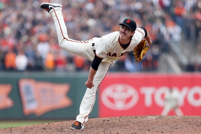 Tim Lincecum... (Photo Kelley L. Cox, USA Today)