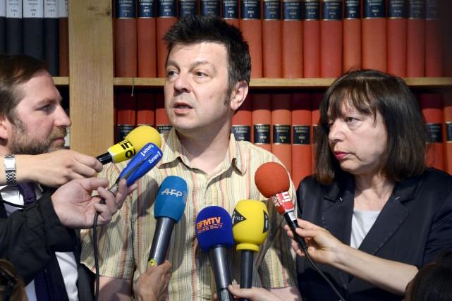 Depuis près de 14 ans, les époux Mennesson,... (PHOTO BERTRAND GUAY, AFP)