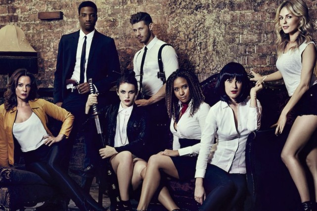 Les 10 comédiens et chanteurs de la troupe... (Photo fournie par le FJM)