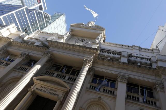 L'Argentine a déposé jeudi plus d'un milliard de dollars dans une banque... (Photo Enrique Marcarian, Reuters)