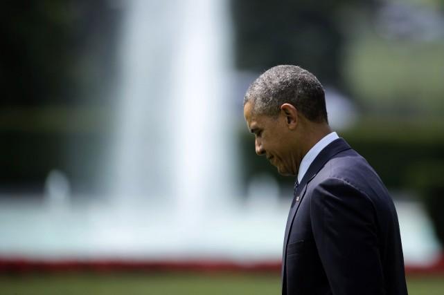 Barack Obama... (PHOTO GARY CAMERON, REUTERS)