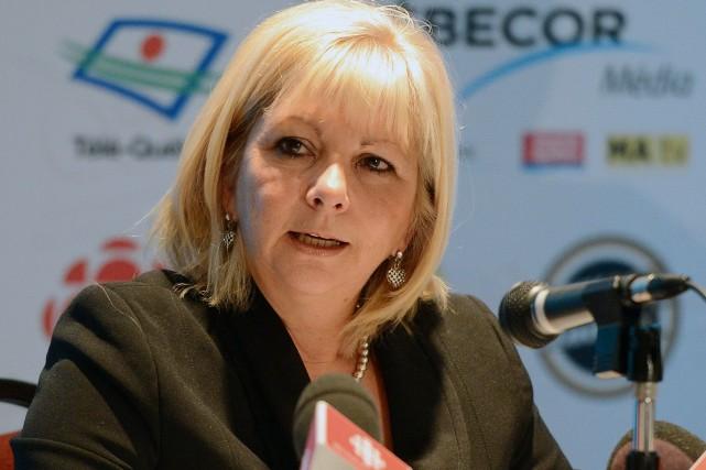 Josée Bouchard, la présidente de la Fédération des... (Photothèque Le Soleil)