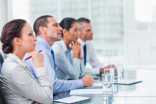 La représentation des femmes aux conseils d'administration est... (Photo Thinskstock)