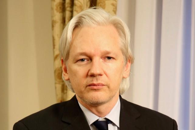 Le fondateur de WikiLeaks, Julian Assange n'a pas... (Photo archives Reuters)