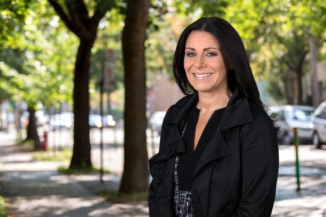 La représentante de la Culture à la ville... (Photo fournie par l'Équipe Coderre)