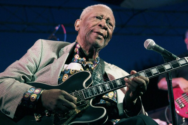 B.B. King... (Photo Rogelio V. Solis, archives AP)