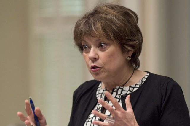 La ministre de la Culture, Hélène David, a... (Photo Jacques Boissinot, archives La Presse Canadienne)