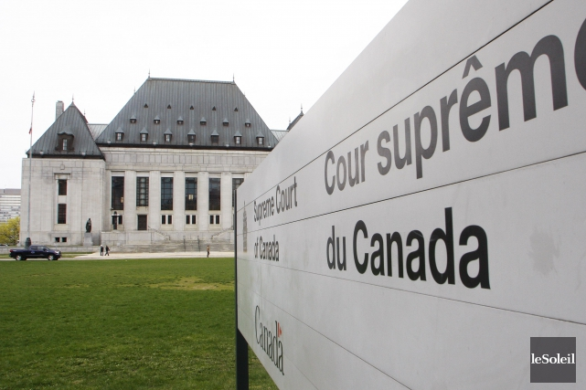 Début février, la Cour suprême du Canada a... (Photothèque Le Soleil)
