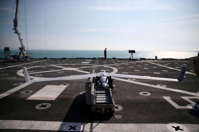 Quelques drones américains armés de missiles volent au-dessus... (PHOTO MARK WILSON, ARCHIVES GETTY IMAGES/AFP)