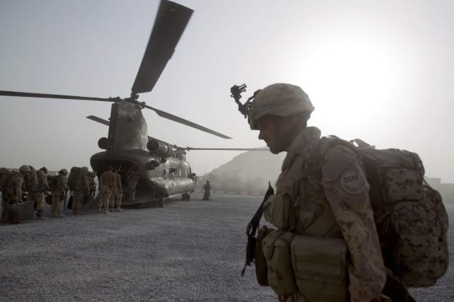 Les Forces armées canadiennes (FAC) ont fait des progrès intéressants pour... (Photo David Goldman, archives AP)