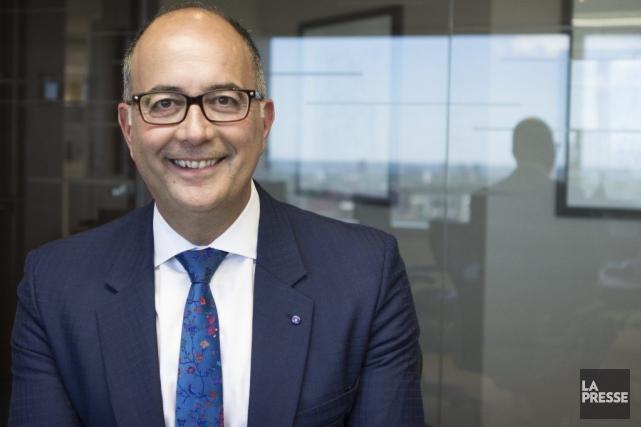 Emilio Imbriglio était président du conseil des associés... (PHOTO NINON PEDNAULT, LA PRESSE)