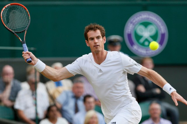 Andy Murray... (Photo Stefan Wermuth, Reuters)