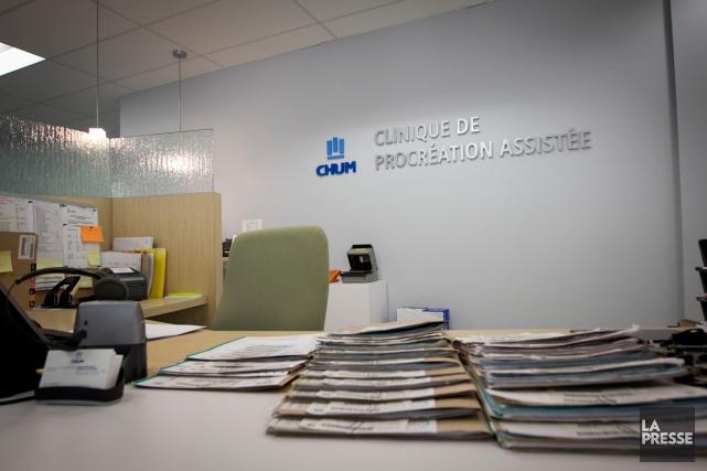 La clinique deprocréationassistéedu CHUM.... (PHOTO HUGO-SÉBASTIEN AUBERT, ARCHIVES LA PRESSE)