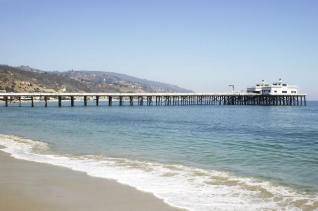 Malibu Pier, à Los Angeles.... (Photo Digital Vision/Thinkstock)