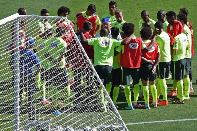 Un gain contre le Chili au stade Mineirao... (PHOTO VANDERLEI ALMEIDA, AFP)