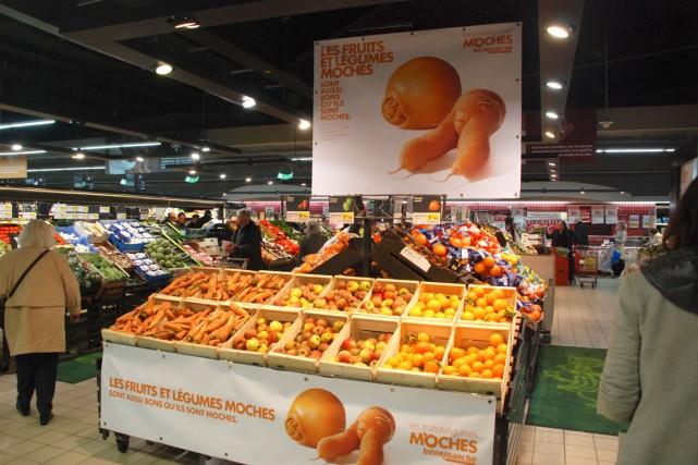 La chaîne Intermarché s'est engagée avec l'État dans... (Photos fournies par Intermarché)