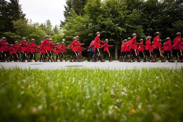Le nombre record d'affaires disciplinaires à la Gendarmerie royale du Canada... (PHOTO BEN NELMS, LA PRESSE CANADIENNE)