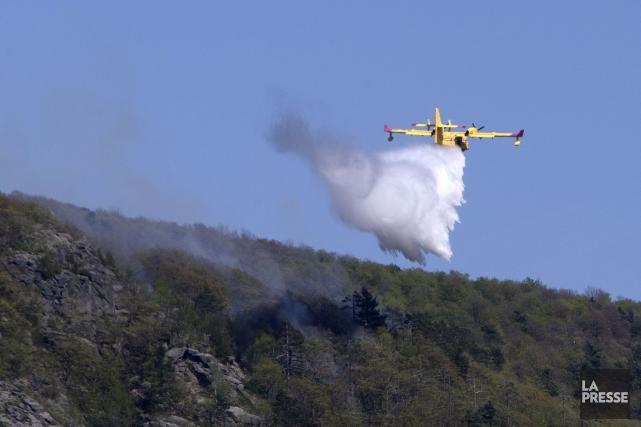 La Société de protection des forêts contre le feu (SOPFEU) renouvelle son avis... (PHOTO ROBERT SKINNER, ARCHIVES LA PRESSE)