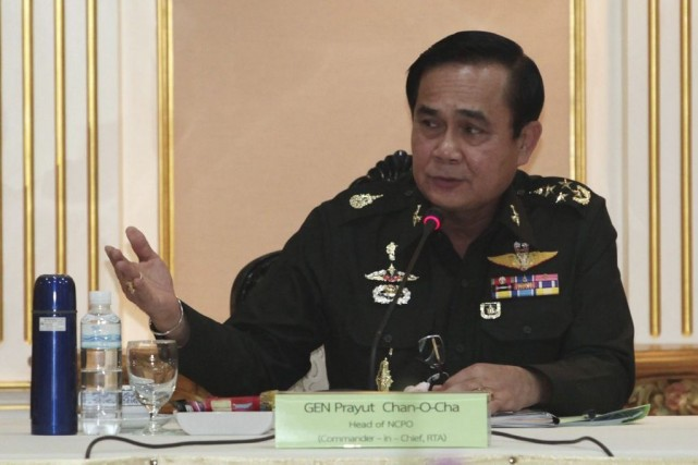Le général Prayut Chan-O-Cha... (Photo Chanat Katanyu, Reuters)