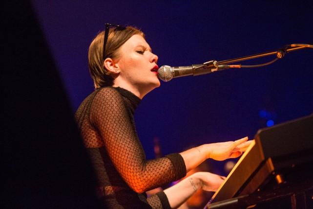 TrixieWhitley a une voix d'exception, et fait un... (Photo Frédérique Ménard-Aubin, le Festival International de Jazz de Montréal)