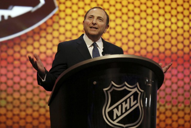 Le commissaire de la LNH, Gary Bettman.... (Photo Bill Streicher, archives USA TODAY Sports)