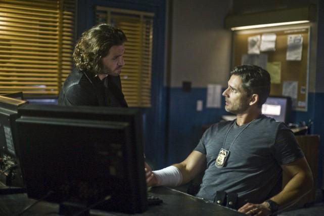 Dans Deliver Us From Evil,Édgar Ramirez (à gauche)... (Photo fournie par Sony Pictures)